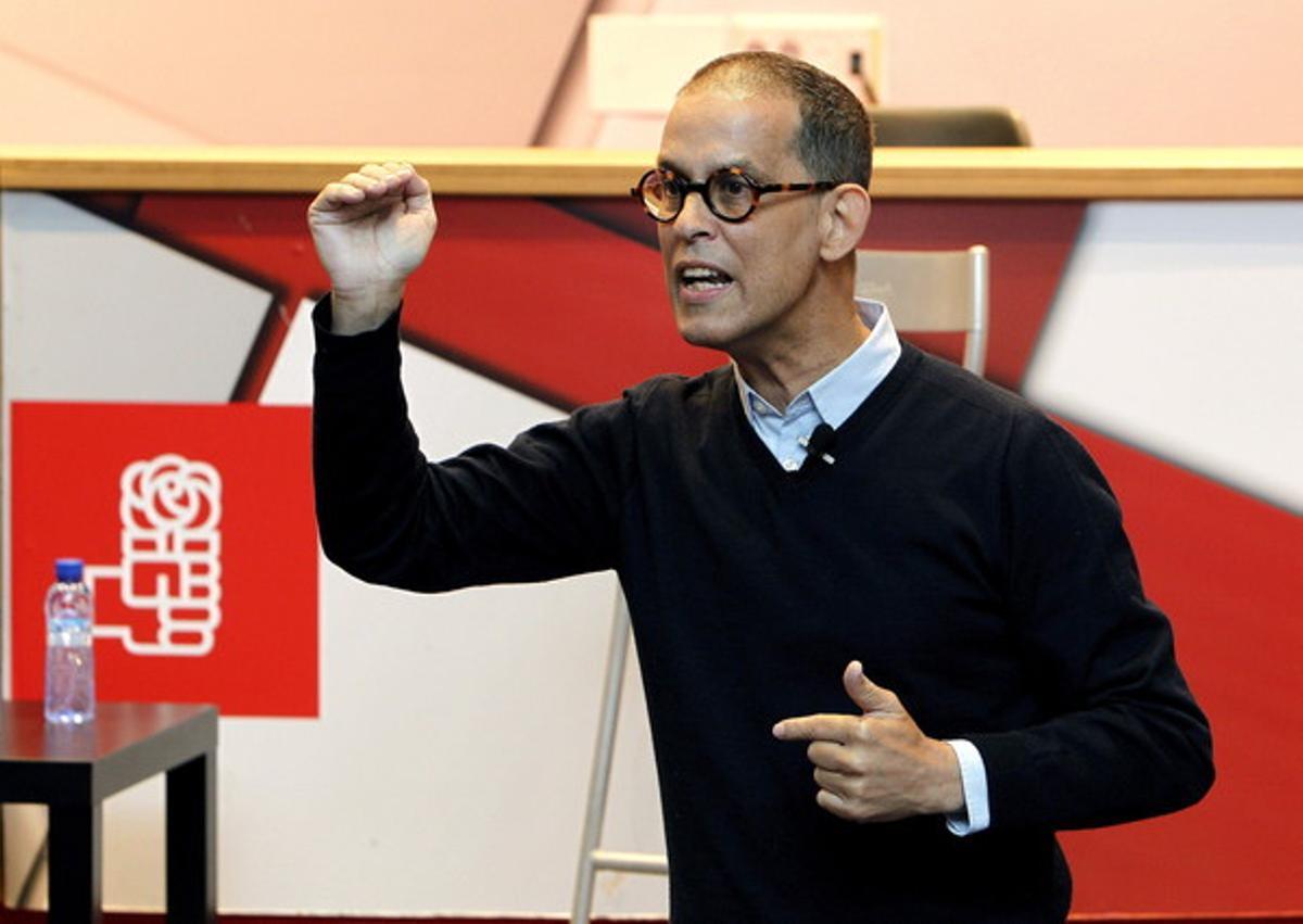 Pedro Zerolo, en una fotografía del pasado mes de enero, en un acto en Zaragoza.