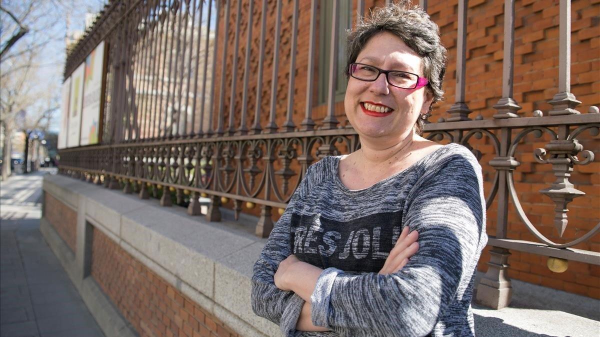 La editora Belén Bermejo, en una foto tomada en marzo de 2019