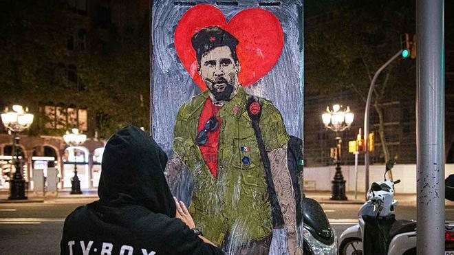 TVBoy retrata a Messi como Che Guevara