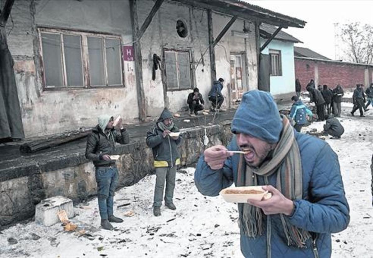 La ONU confirma que ya hay refugiados muriendo de frío en Europa