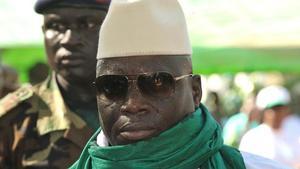 El presidente Yahya Jammeh, en una imagen del 2011.