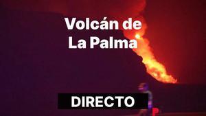 La lava del volcán de La Palma llega al mar.