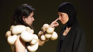 Ginebra Vall y Cintia Ballbé, las protagonistas de 'Vale Vale Vale'.
