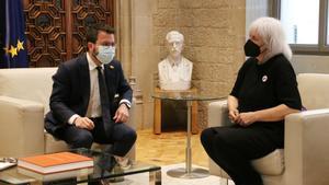 La CUP exigeix «gestos» a Aragonès per garantir la governabilitat