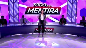 Marta Flich, presentadora titular de 'Todo es mentira' en el 8M con Risto de copresentador