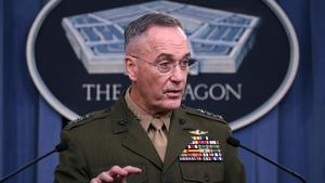 El general Joseph Dunford habla sobre el incidente de Niger, el lunes 23 de octubre.