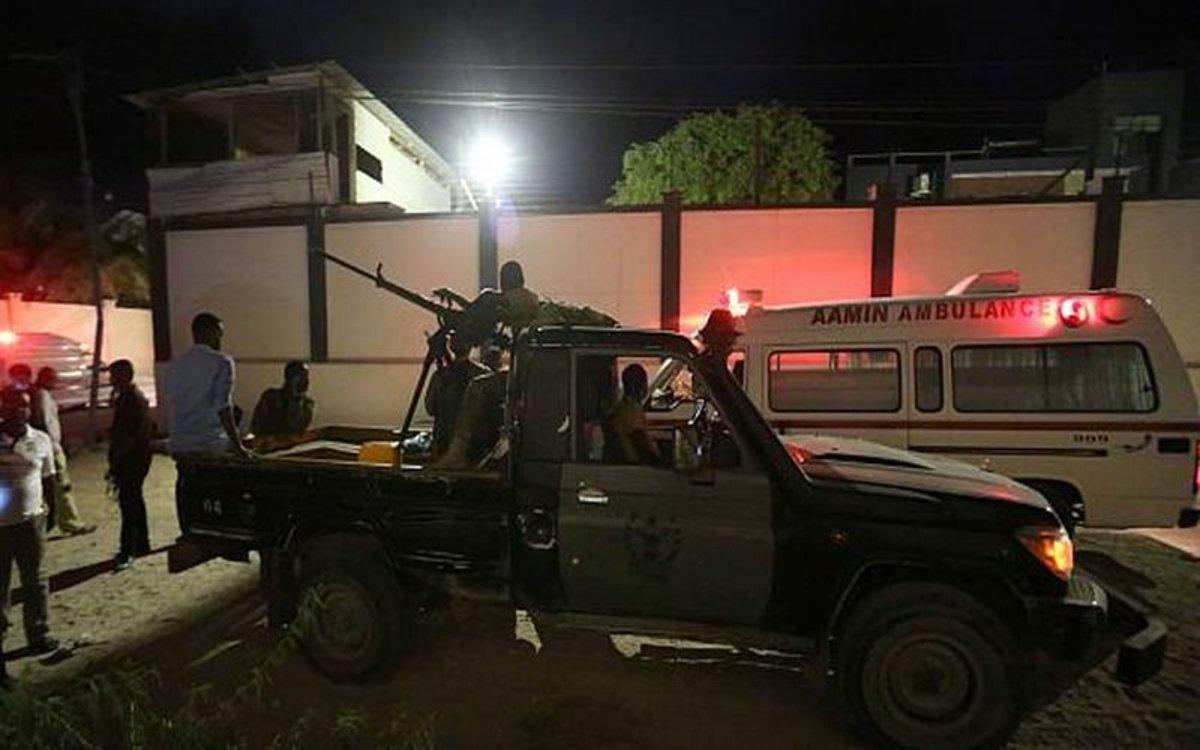 Ataque terrorista enMogadiscio, Somalia.