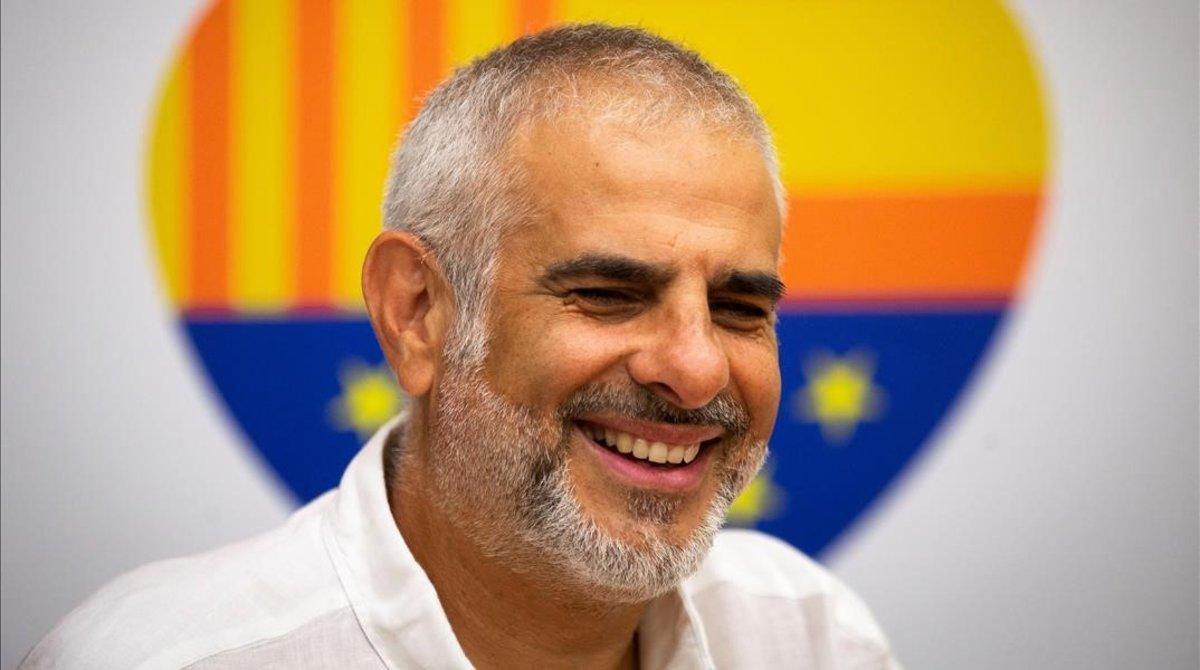 Carlos Carrizosa, en una entrevista esta semana.