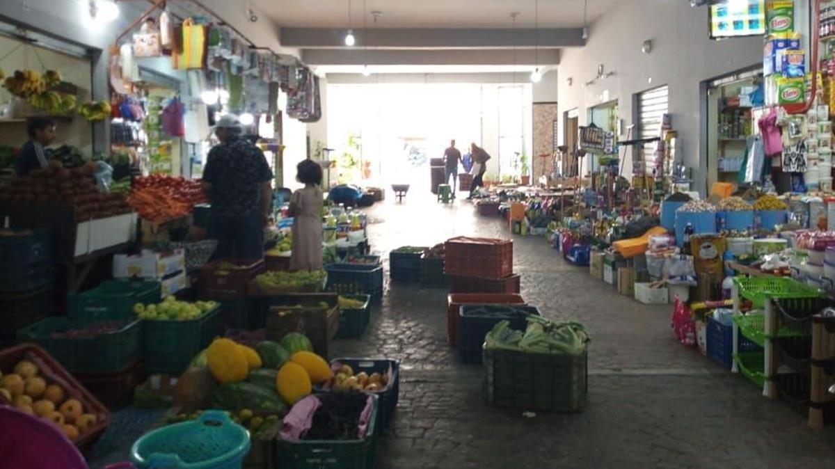 Imagen del mercado dela Medina de la ciudad deRabat.