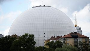 Ericsson Globen Arena, en Estocolmo.