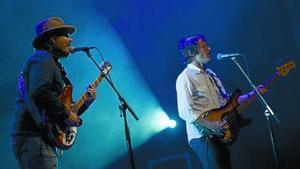 Rock 8El grupo estadounidense Wilco, anoche en el Liceu.