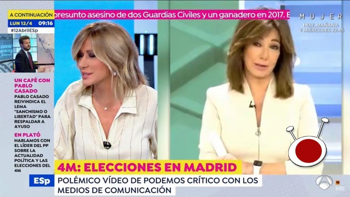 'Espejo Público' ofreciendo una imagen de 'El programa de Ana Rosa'