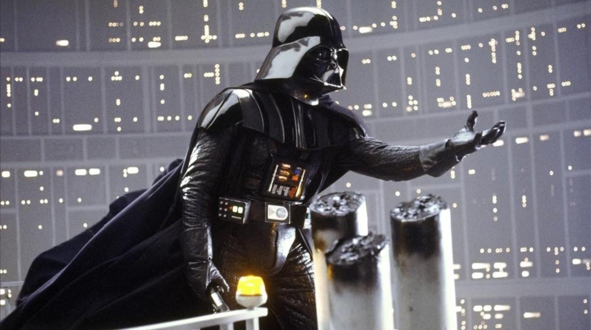 El personaje de Darth Vader, en la película 'Star Wars. El imperio contraataca'.