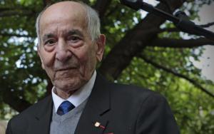 Rafael Gómez, el último superviviente de La Nueve.