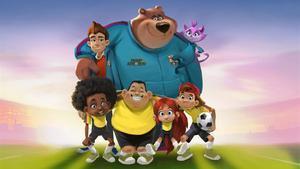 Imagen de 'Talent explorers', la serie de animación de Barça Studios.