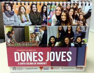 Les dones joves, protagonistes del Calendari de la Dona 2017 de Santa Coloma