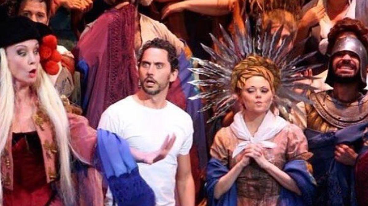 Paco León protagoniza el musical '¡Cómo está Madriz!'.