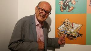 El dibujante Francisco Ibáñez.
