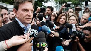 El todavía alcalde carioca podrá revertir esta situación.