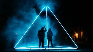 Imagen del documental de Movistar+ 'El triángulo de Sternberg'