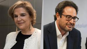 Pilar Rahola y David Madí.