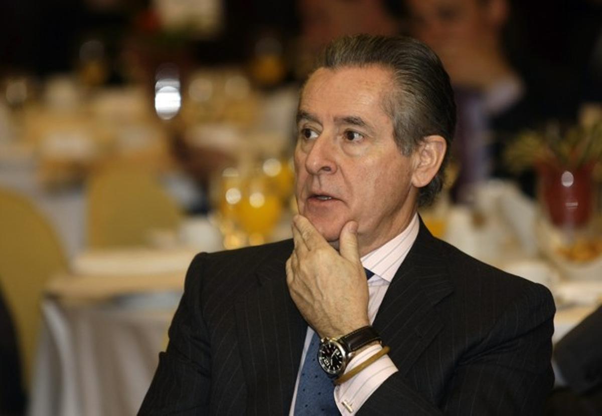 Miguel Blesa, expresidente de Caja Madrid, en una imagen de marzo del 2009.