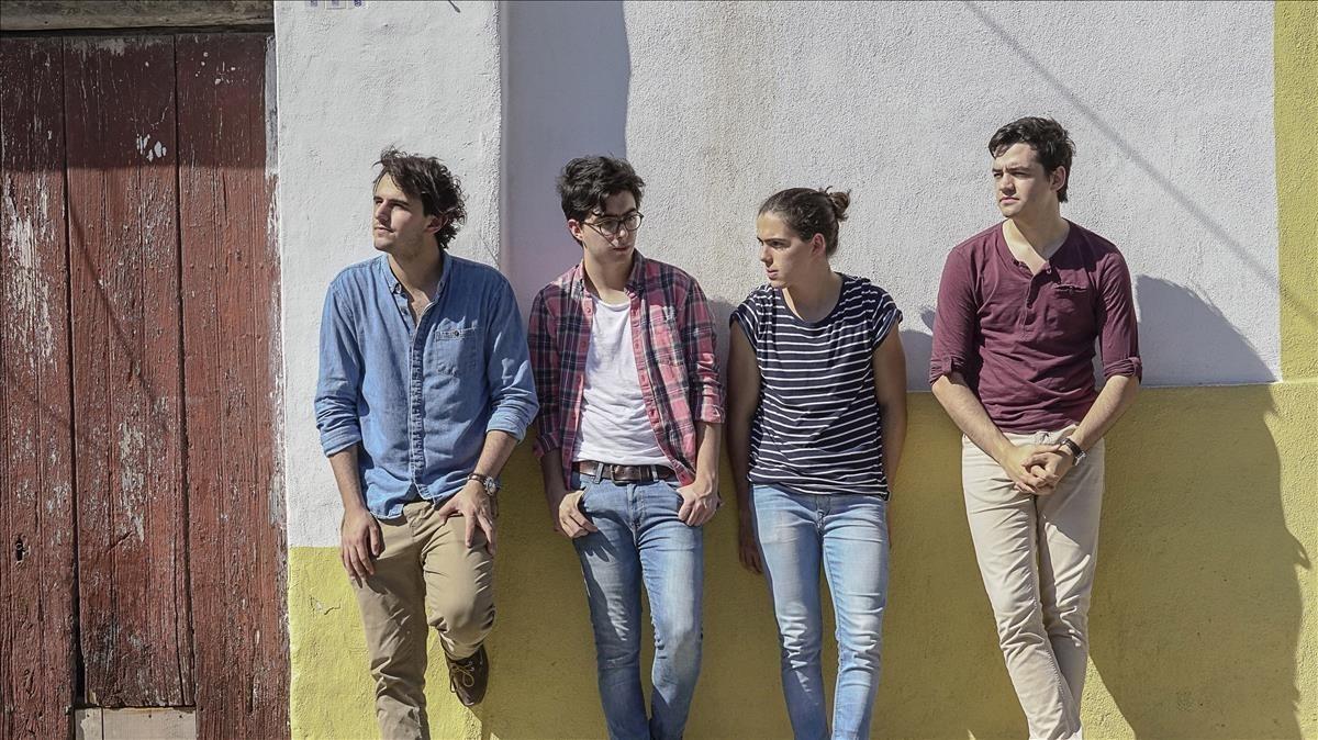 El cuarteto colombiano Morat actúa este lunes en Cap Roig.