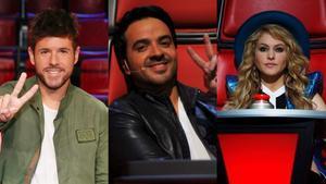 'La voz' en Antena 3.