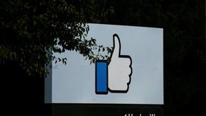 The entrance sign to Facebook headquarters is seen in Menlo ParkCalifornia.REUTERS Elijah Nouvelage