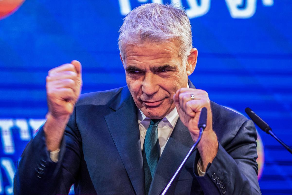 El líder del partido Yesh Atid, el centrista Yair Lapid.