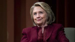 Hillary Clinton, el pasado 10 de octubre.