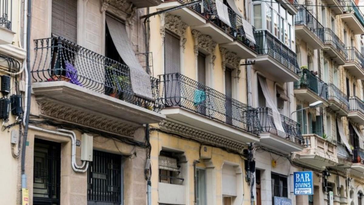 Edificio de viviendas de la calle Elkano.