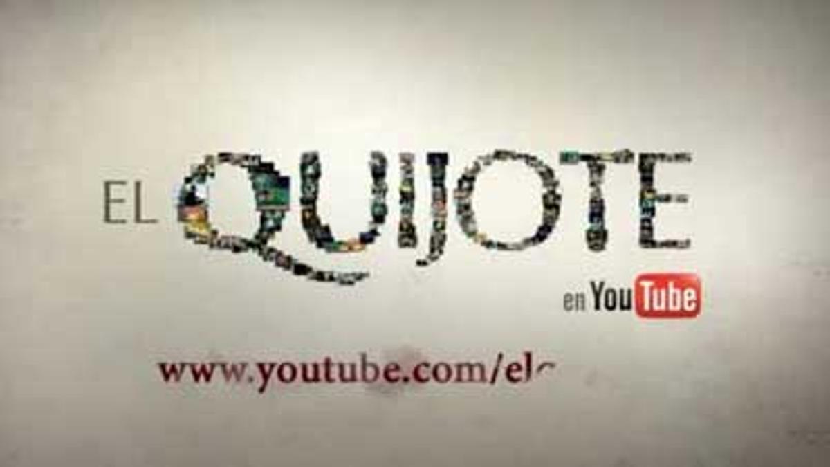 La RAE y Youtube promueven una lectura de la obra de Cervantes llevada a cabo por internautas.