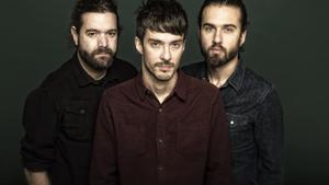 Tres de los integrantes del grupo madrileño Vetusta Morla, en una foto de archivo