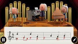 Johann Sebastian Bach, en el 'doodle' de Google.