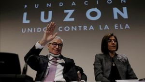 Francisco Luzón, en la presentación de la fundación que lleva su nombre, en marzo del 2017.