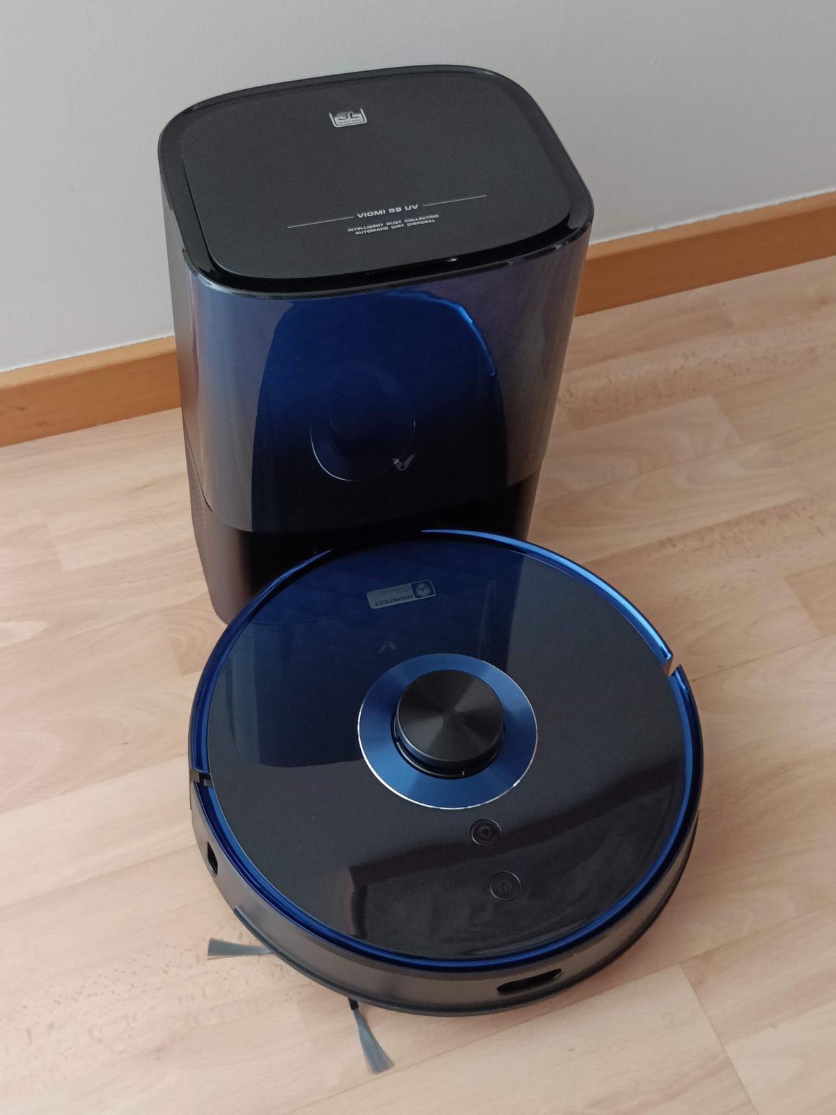 Nueva aspiradora Viomi con sistema de desinfección.