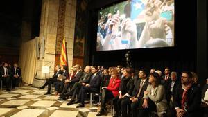 Presentación del Consell per la República en el Palau de la Generalitat el pasado octubre.