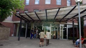 Entrada al hospital de Sant Celoni