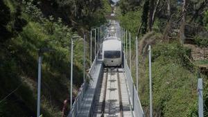 La Cuca de Llum, el nuevo funicular que permitirá llegar a la montaña del Tibidabo.