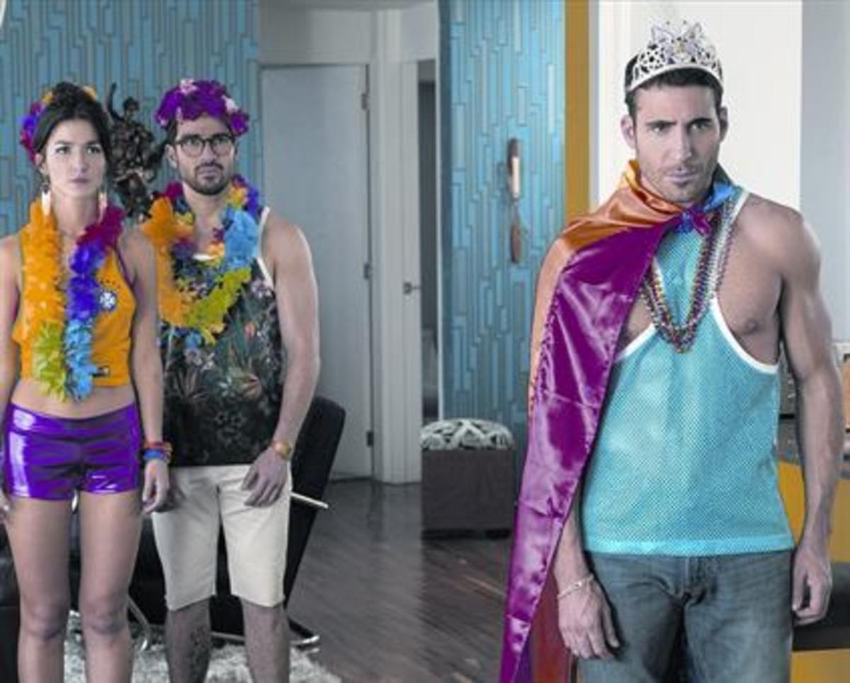 'SENSATES'Miguel Ángel Silvestre, en una escena de la segunda temporada de 'Sense8'.
