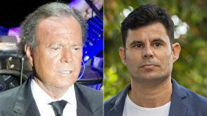 Julio Iglesias y Javier Sánchez Santos, el último hijo que el juez le ha atribuido al cantante.
