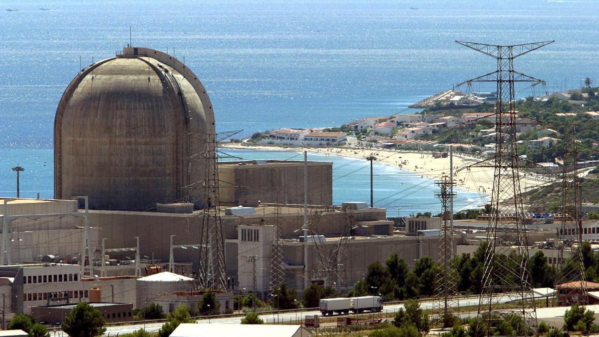 Central nuclear de Vandellós.