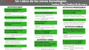 Jornada Pedagògica sobre ús i abús de les noves tecnologiesa Mataró.