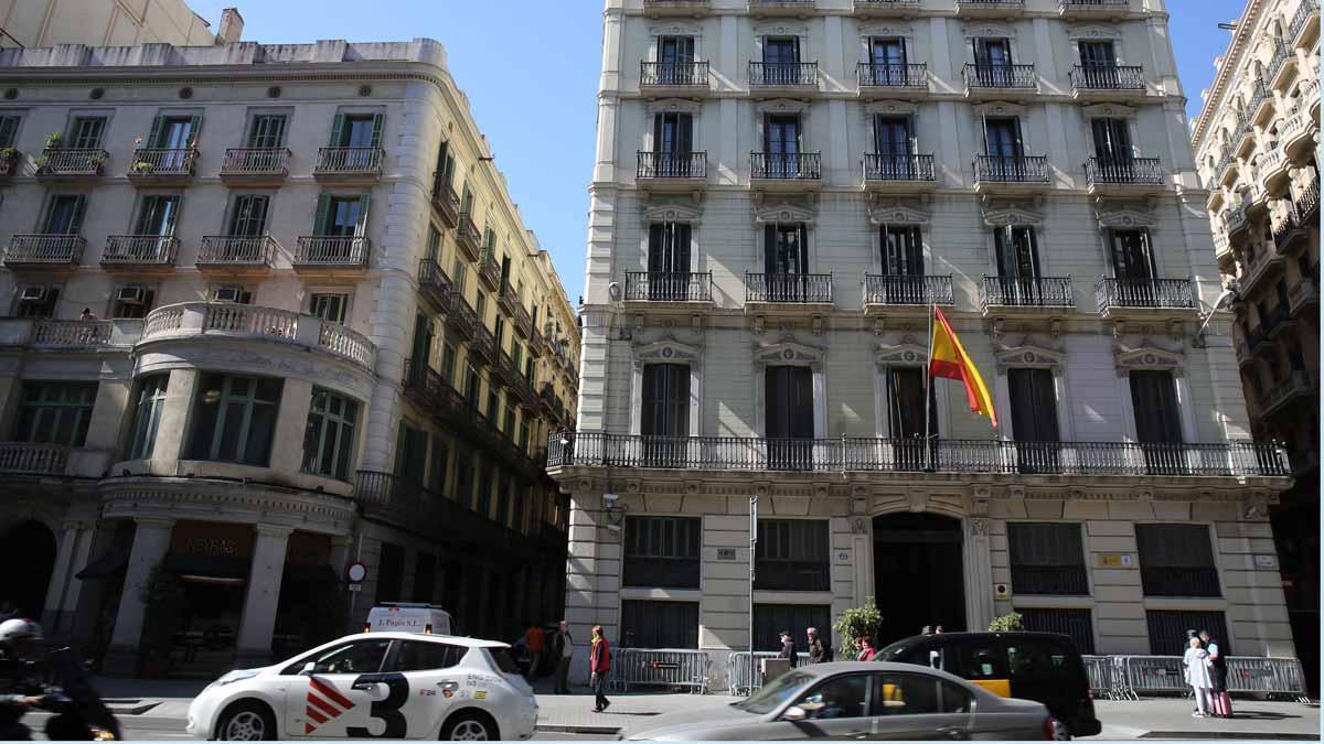 La comisaría de Via Laietana en Barcelona.