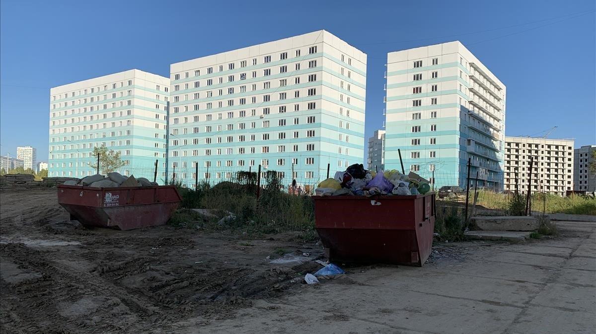 Un barri fantasma a la taigà siberiana