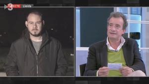 Pablo Hasel y Javier Gallego en 'FAQS'.