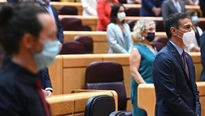 El PSOE i Unides Podem se sobreposen a l'última topada ajudats per l'operació Kitchen