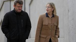 Neus Munté a su llegada al Tribunal Supremo para declarar ante el juez Pablo Llarena