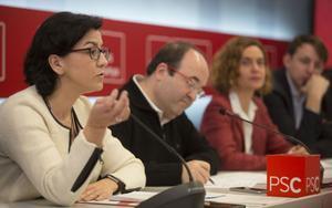 Miquel Iceta aposta per la continuïtat en l'executiva del PSC